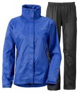 Didriksons Main Womens Set, regnsæt, blå