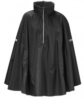 Didriksons Wheely Unisex Cape, regnslag, sort
