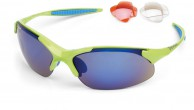 Demon 832 cykelsolbriller, m. 3 sæt linser, grøn