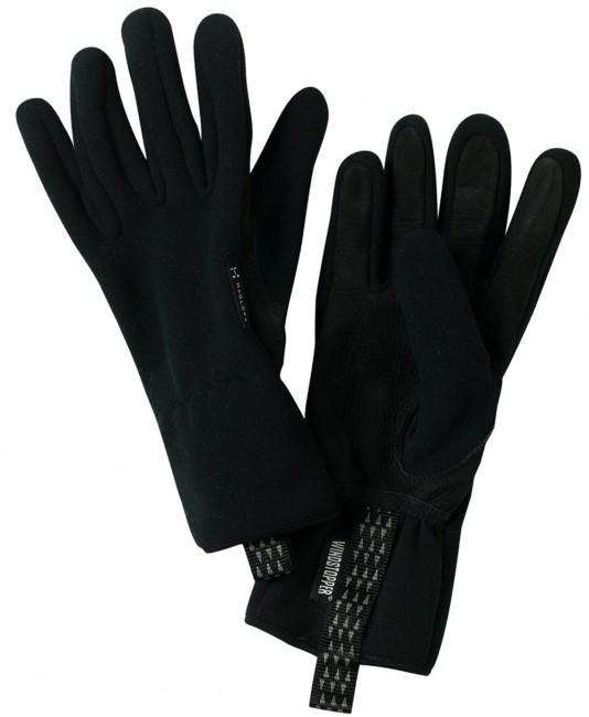 Vindtæt handske i materialeblanding som kombinerer høj varmekapacitet, holdbarhed og stretch. En af vore mest populære handsker, elegant model som passer godt til den danske vinter.Gode ventilerende egenskaberPreformede fingre for bedre greb og mindre