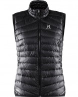 Haglöfs Essens III Down Vest Women, sort