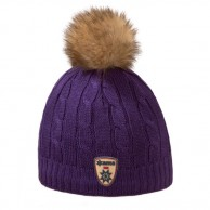 Kama Fashion hue, med kvast, violet