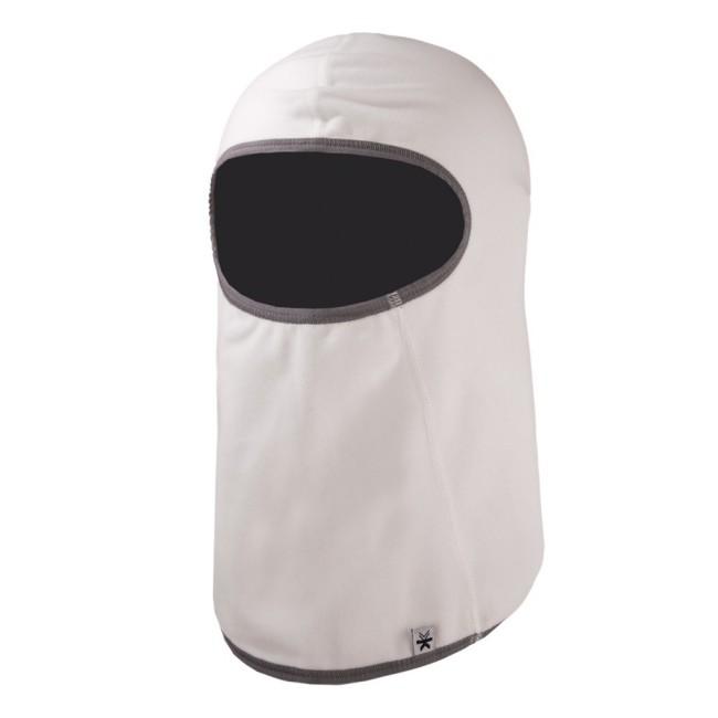 Balaclava (fullface hjelmhue) i en lækker og tynd kvalitetsfleece. Materialet et 260 gr/m2 Tecnopile fleece. Huen vejer stort set intet.Da materialet er meget tyndt, kan ansigtsmasken let anvendes under skihjelm.