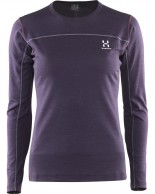 Haglöfs Actives Blend Roundneck Women, lilla