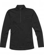 Haglöfs Actives Merino II Zip Top Women, sort