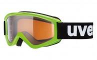 Uvex Speedy Pro, børneskibrille, grøn