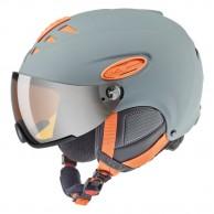Uvex hlmt 300 skihjelm med Visir, grå/orange