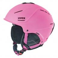 Uvex p1us skihjelm, pink