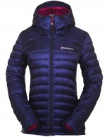 Montane Featherlite Down Jacket, dame, blå