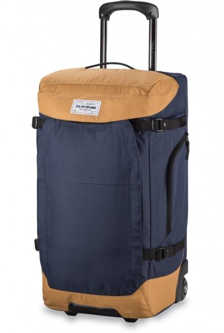Sherpa Roller 60L er en rummelig og særdeles slidstærk rejsetaske med hjul, til alle former for bagage og udstyr. Kan også bæres som rygsæk.Egenskaber og funktioner:Kompressionsremme i siderneTeleskophåndtagIndvendig småtingslomme i lågIndvendig sikkerhedslommeSolide letløbende urethan hjul som kan udskiftesBærestropper kan gemmes væk med lynlås lukMateriale: 600D PolyesterVolumen: 60 Liter Mål: 61 x 33 x 33 cm Vægt. 4 kg