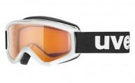 Uvex Speedy Pro, børneskibrille, hvid