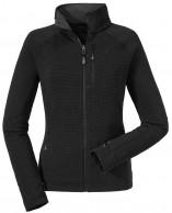 Schöffel Walsertal Zip In, fleece skitrøje, sort