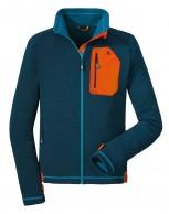 Schöffel Karwendel Zip In, fleece skitrøje, blå
