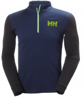 Helly Hansen Active Flow 1/2 Zip undertrøje, blå
