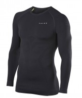 Falke Maximum Warm Longsleeved Shirt Tight Fit, herre, sort