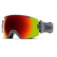Smith I/OX skibrille, Charcoal/Red Sol-X Mirror