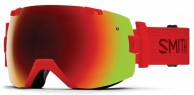 Smith I/OX skibrille, Fire/Red Sol-X Mirror