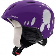 Alpina Carat LX, junior skihjelm, violet