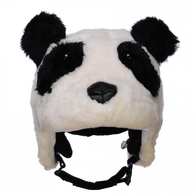 ZeeZee the Panda vil utvivlsomt gøre dig bedre til at løbe på ski. Det tror vi i hvert fald på.Pandaer lever normalt alene, men denne panda elsker at lege i sneen, og vil få dig til at vække opsigt, så alle andre, også dine forældre, kan se hvor du er.Overtræk til skihjelm til børn.Fremstillet i super blødt og lækkert plyds pels, og en sød lille snude, som du får lyst til at kramme. Hun er ret nuttet, tro os.Onesize, passer til alle børnehjelme, og voksenhjelme i mindre størrelser.