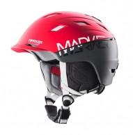 Marker Ampire, skihjelm, rød/grå