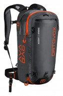 Ortovox Ascent 22 ABS AVABAG, sort
