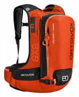 Ortovox Free Rider 22 ABS, AVABAG, orange