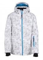 Kilpi Genovesa JG junior pige skijakke, hvid med print