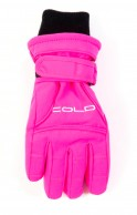 Cold Force Glove JR, junior skihandsker, pink