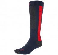 4F Ski Socks, billige skistrømper, herre, blå/rød