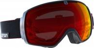 Salomon XT One goggles, sort/rød