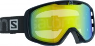 Salomon Aksium goggles, Blk/LoLight Light yello