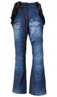 Kilpi Jeanster-W, dameskibukser, jeans look, blå