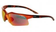 Demon Evolution solbriller, m. ekstra linser, orange