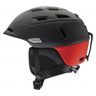 Smith Camber skihjelm, sort/rød