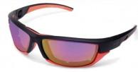 Demon Tech sportssolbriller, orange/sort
