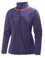 Helly Hansen W Grapich fleece jacket, skipulli, dame, Nordic Purple