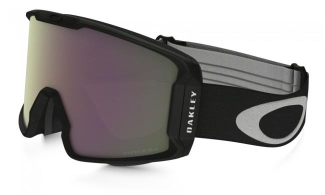 Denne oversize goggle sidder tættere på dit ansigt end nogen anden Oakley goggle. Den store linse giver fantastisk perifært udsyn i alle retninger.Det strømlinede design sikrer dig fuld hjelmkompatibilitet og passer over de fleste briller. Linsen er dugforebyggende med dobbelte linser og god ventilation og har Oakleys førende F3 behandling på den inderste linse som også modvirker dug.Med PRIZM linse, som er en helt ny linse baseret på årtiers farveforskning, får du en bedre lystransmission, hvilket giver maksimal kontrastgengivelse.Brillen kommer med en PRIZM Hi Pink Iridium linse, som er optimal i gråt, overskyet vejr.