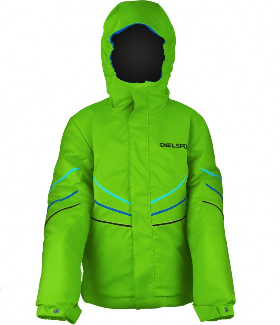 DIEL Frodo drenge skijakke, grøn