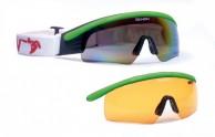 Demon Nordic skibriller til langrend, grøn