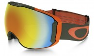 Oakley Airbrake XL, Military Recon Green, Fire Iridium and Persimmon