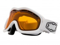 Out Of Mind skibriller, White/Persimmon