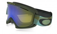 Oakley O2 XL, Abstract Lines Burnished Blue, HI Yellow Iridium