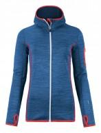 Ortovox Merino Fleece Melange Hoody W, blå