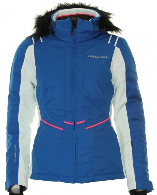 DIEL Eva skijakke, dame, blå thumbnail