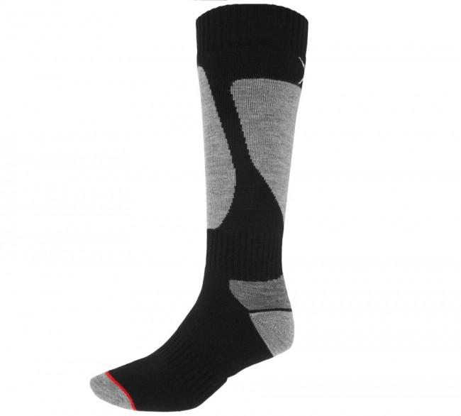 4F Ski Socks, skistrømper, herre, 1-par, sort/grå