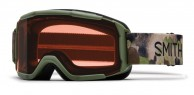 Smith Daredevil OTG, juniorskibrille, olive haze