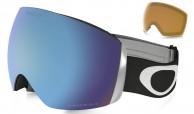 Oakley Flight Deck, Matte Black, Prizm Sapphire + Persimmon