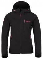 Kilpi Elia, softshell jakke, kvinder, sort/pink