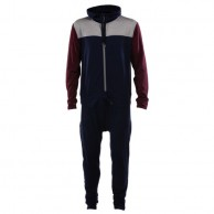 Mons Royale The Monsie One Piece, skiundertøj, Burgundy Navy