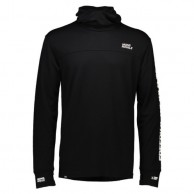 Mons Royale Yotei Powder Hood FWT, skiundertrøje, Black